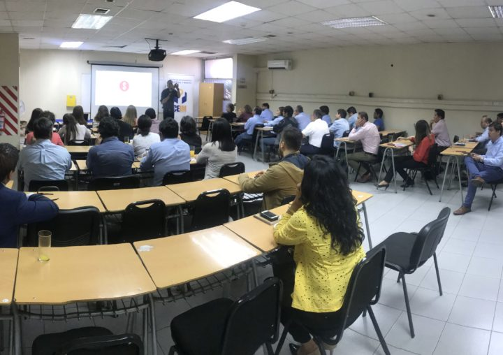 Subdirector de Corfo realizó charla sobre instrumentos y apoyo para empresas en CEIM