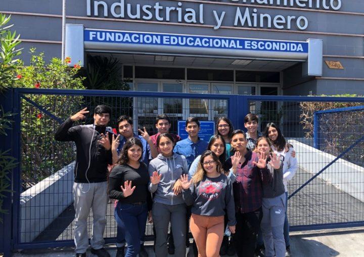 Jóvenes del Valle del Huasco inician beca en CEIM