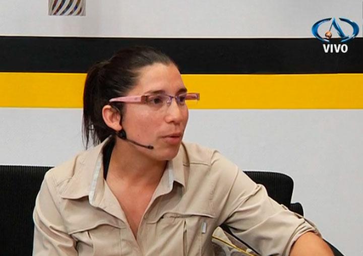 Entrevista Scarlett Aguilera SENCE