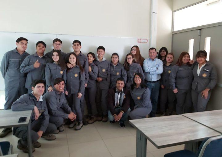 Alumnos del liceo politécnico de Tocopilla realizaron clase práctica en CEIM