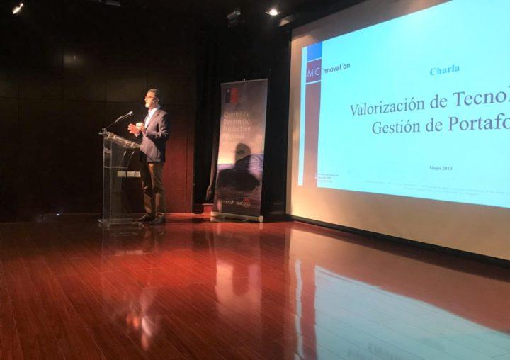"""Segunda charla del ciclo """"El desafío de acelerar la innovación en la región de Antofagasta"""""""