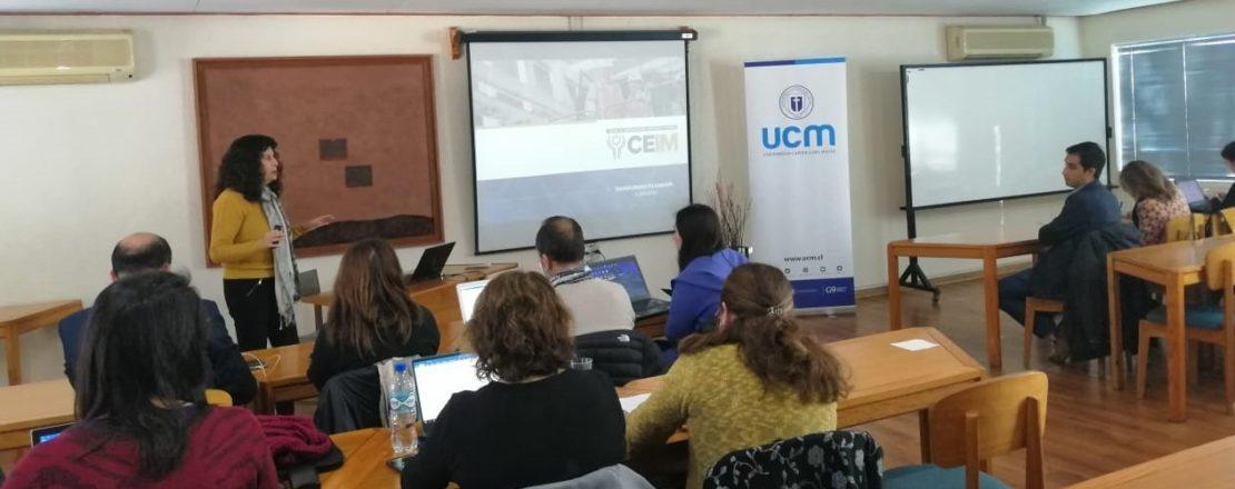 Gerente de Desarrollo de Competencias de CEIM expuso en la Universidad Católica del Maule