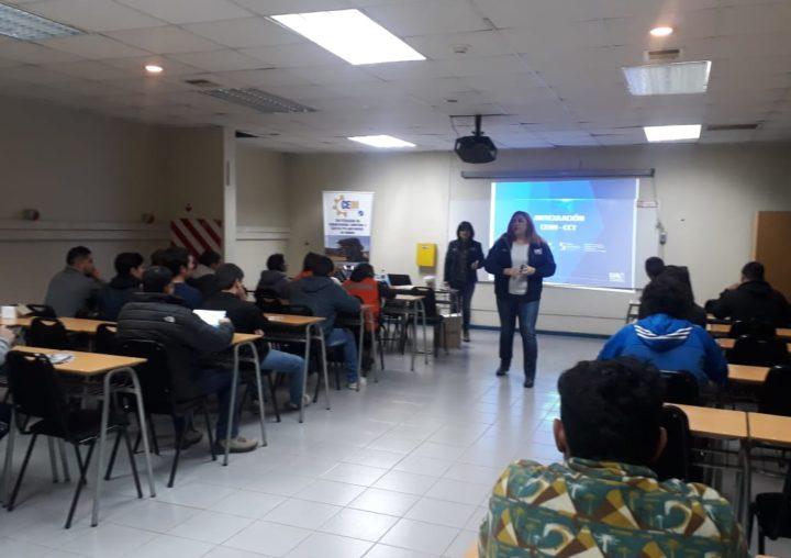 Centro de Carreras Técnicas de la UA realizó charla informativa para continuidad de estudios en CEIM