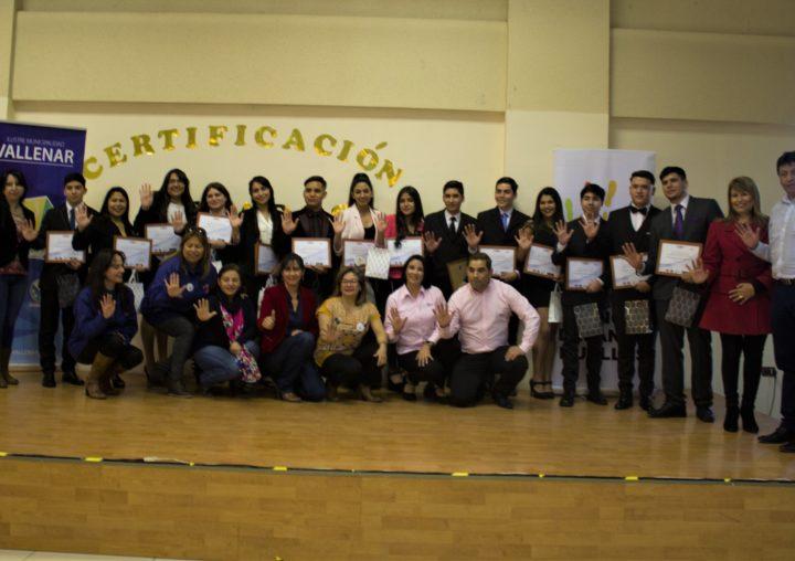 14 jóvenes de Huasco recibieron su certificación en Camión Alto Tonelaje y Equipos de Servicios