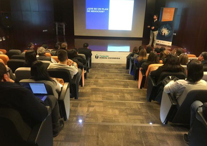 """Cuarta charla del ciclo """"El desafío de acelerar la innovación en la región de Antofagasta"""""""