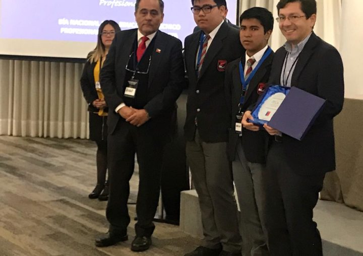 CEIM recibe reconocimiento como empresa colaboradora en Seminario Regional de Educación Media Técnico Profesional