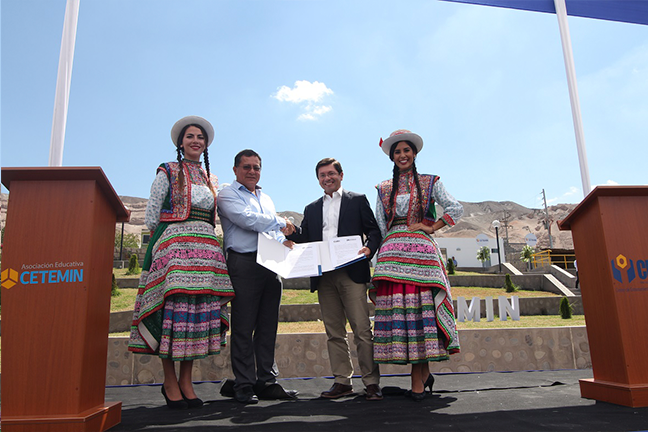 Convenio CEIM & CETEMIN – Perú.