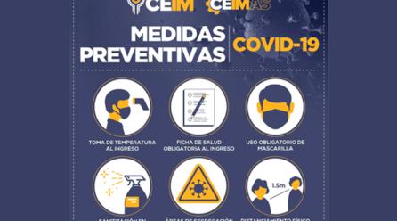 Medidas preventivas en periodo de COVID-19