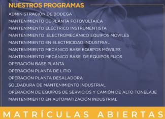 Escuela de Oficios Industriales 2021