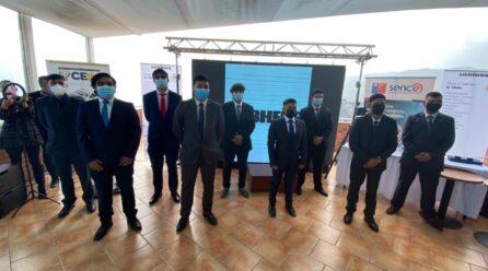 9 jóvenes finalizan el Programa de Aprendices de Liebherr con apoyo del Sence